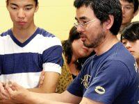 西根博司さんがトロント補習授業校で講演