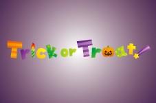 ハロウィンの決まり文句と言えば、Trick or Treat!