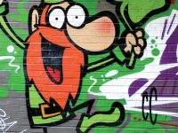 Painting on the street