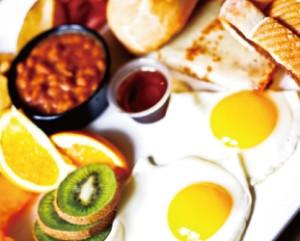美味しそうな朝食メニュー