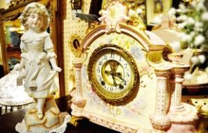 かわいらしい時計