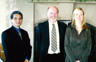 Yoshi Ichida, Steve Rogers, Blenda Stronach(元CEO of MAGNA)