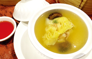 7.Seafood Dumpling in Soup