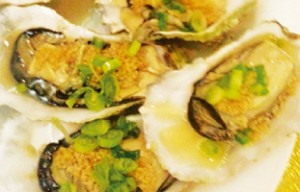 steamed-fresh-oyster