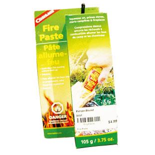 D 火を点ける時に便利な着火剤。 Coghlan's Fire Paste $4.99