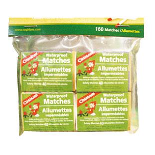 D ライターが使えなくなった場合も想定して防水仕様のマッチも準備しよう。 Coghlan's Waterproof Matches $1.99
