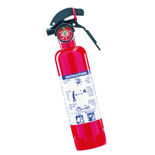 C 地震の際に発生する火事などの二次災害には消火器で対処。 Garrison Compact Extinguisher $24.99