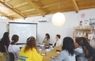 2014年10月16日「みんなの家・かだって」にて 第2回 つながろう女性のための復興カフェ開催