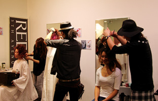 多くの人を魅了したヘアショー