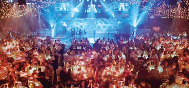 Creating Connextionsが年に一度開く最も大きなパーティーでは100人以上が参加