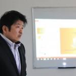 荒木勝也さんによる美容セミナーが開催
