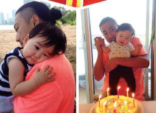 37歳の誕生日は息子と過ごす初めての誕生日。本当に成長が早くてビックリしてます。