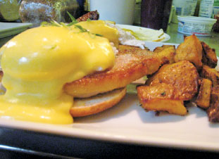 Peameal Bacon Benedict