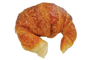 Croissant Au Beurre - 定番のバタークロワッサンは重たすぎず、サクサクとした軽い食感がクセになる。とてもシンプルなので自分お好みの具をはさんでサンドイッチにするのも良し。
