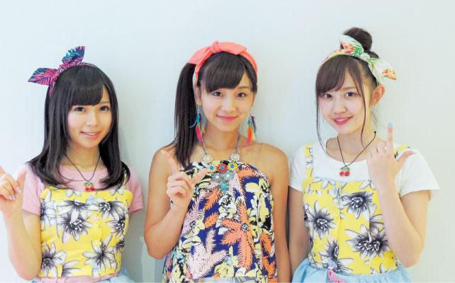 左から姫崎愛未さん、吉川千愛さん、新木さくらさん