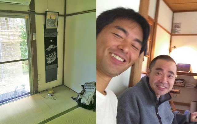 左)2DKの一室を貸し出したAirbnbの「ホテル」右)ホストとゲストの距離の近さはこれまでの常識ではありえません