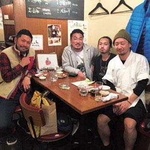 GuuToronto卒業生が働く恵比寿の店で一枚。リョウさん、美味しかったです。
