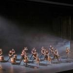 アジア人女性の和太鼓グループ ソロコンサート