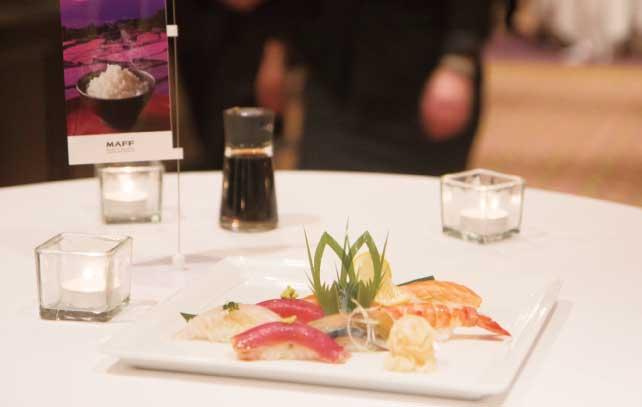 技術が凝縮された寿司の一皿