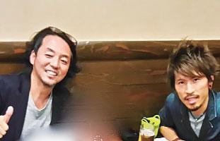 佐々木さん(左)と Hiroさん(右)