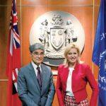 『会ってみたいカナディアン』 ミシサガ市長 Bonnie Crobbieさん