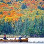 秋の景色が美しい  オンタリオ公園MAP