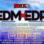 残り少ない夏を熱い音楽で踊り明かそう Official FAN EXPO EDM After Party