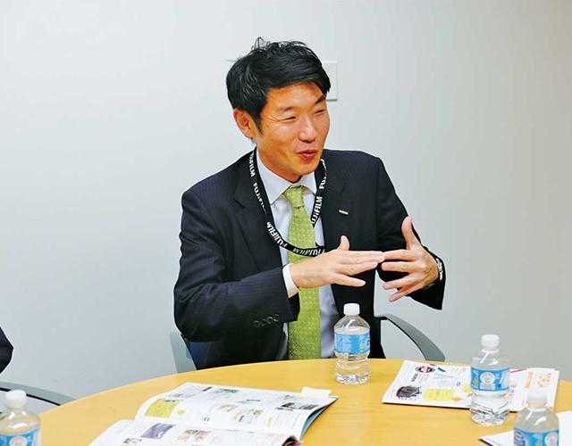 新たな可能性を見いだし、ビジネスチャンスを見つけ、業界を活性させていきたいと語る近藤氏