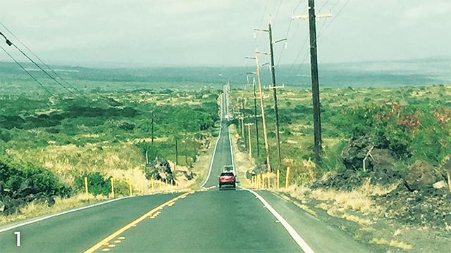 1 どこまでも続く一本道を走り抜ける爽快ドライブ
