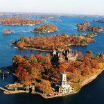 北米富裕層の別荘地としても有名な景勝地 thousand islands(サウザンド・アイランズ)