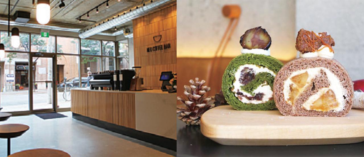 NEO COFFEE BARのロールケーキは甘すぎずふわふわしっとりと日本クオリティ