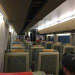 初乗りVIAカナダ大陸横断鉄道