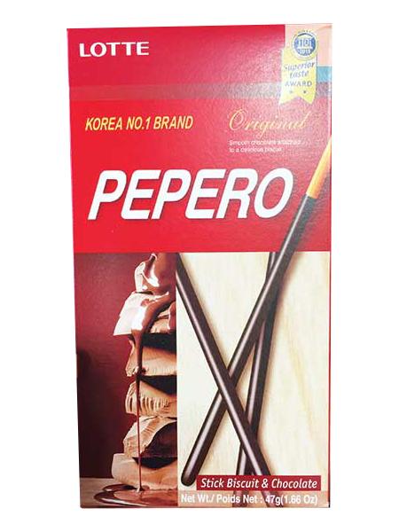 ポッキーは韓国でもペペロの名前で大人気!