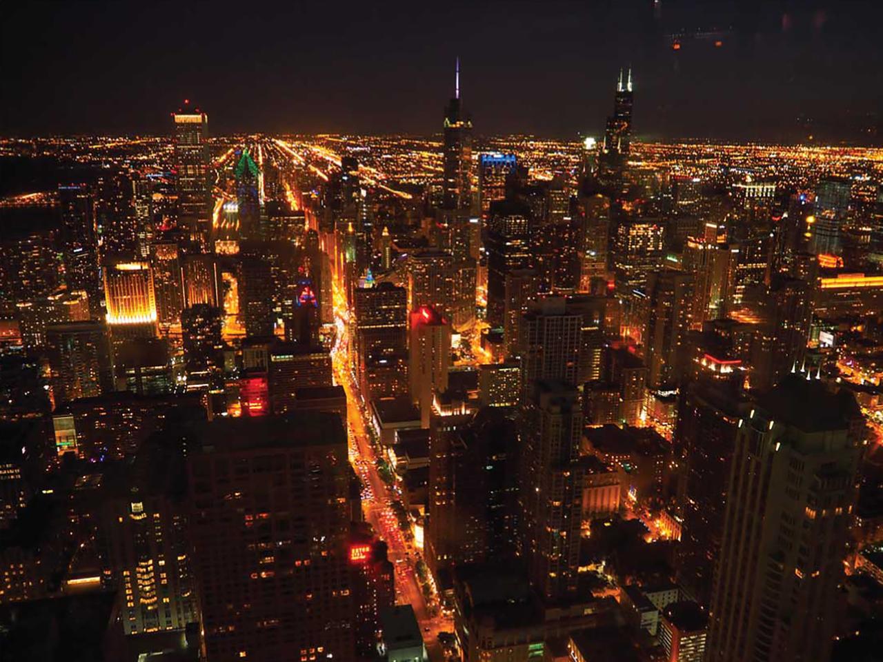 ②街がギラギラと輝く、夜景での1枚。(言葉を失いました。)