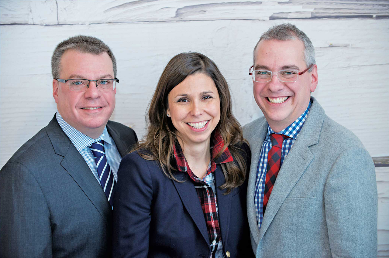 左からCFO Anthony Di Ioiaさん、Creative Director Tina Serraoさん、CEO Pino Di Ioiaさん