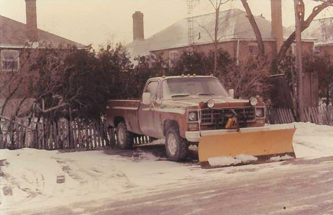 木村さんが庭師の時に使用していたトラック