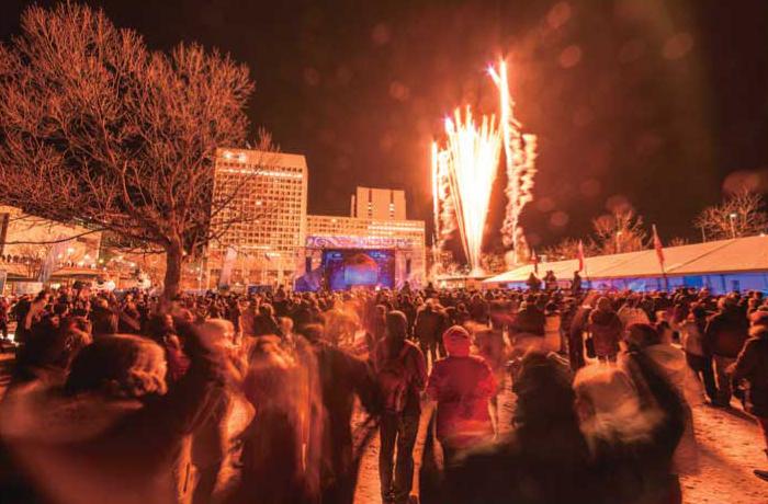 ウィンタールードキックオフパーティー ©OttawaTourism