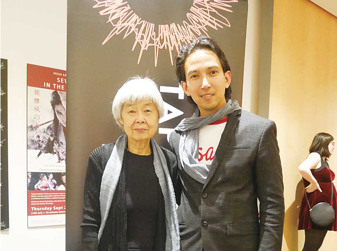oy Kogawaさん(左)、Michael Moriさん(右)