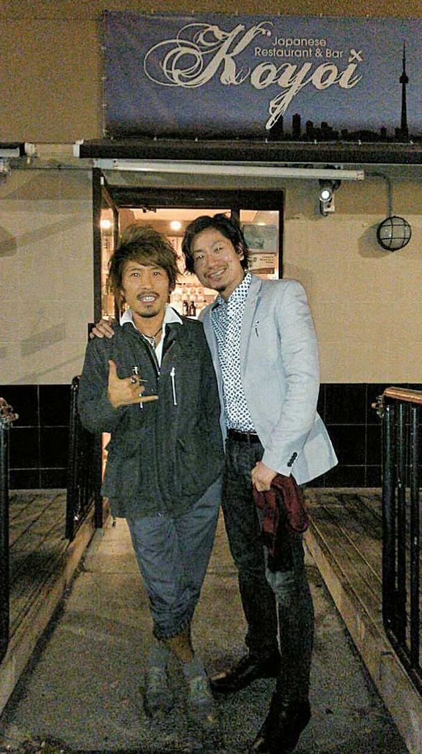 Hiroさん(左)と藤井さん(右)