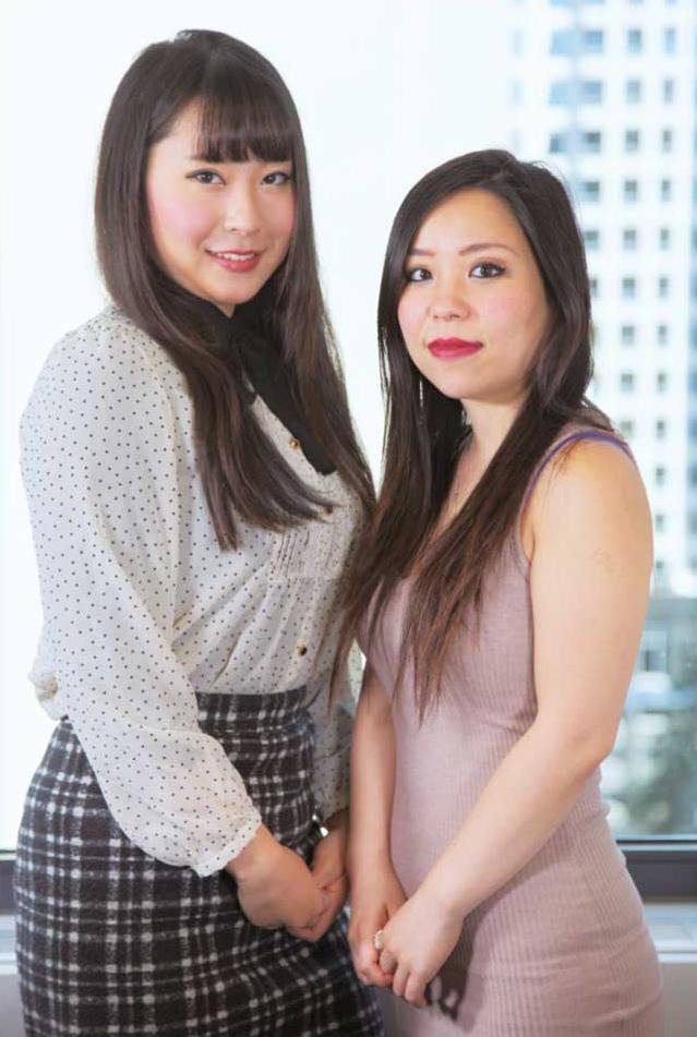顧客サポート担当のTerumiさんとShizukaさん