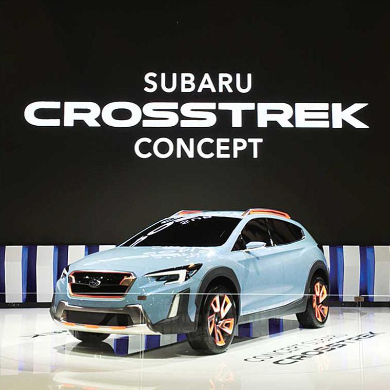 モントリオールオートショーで発表された新型Crosstreckのコンセプトカー