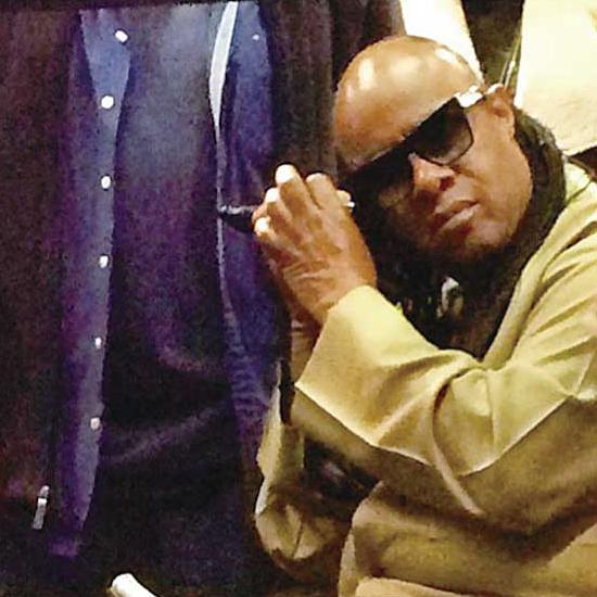 Stevie Wonder 今年も来てました