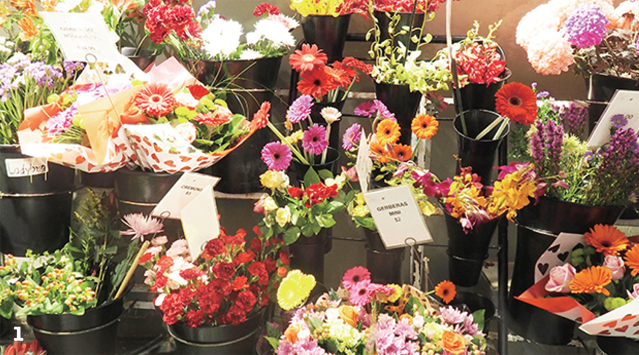 1 色とりどりの花たち