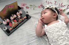 """「私の赤ちゃん!可愛い♥」Rouge 雪華ちゃん カナダで""""こんにちは赤ちゃん"""""""