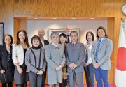 新日系コミッティー(NJCC)代表団が伊藤恭子 在トロント日本国総領事を表敬訪問