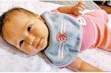 """「私の赤ちゃん!可愛い♥」高林 裕海奈ちゃん カナダで""""こんにちは赤ちゃん"""""""