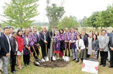 今までそしてこれからの日加関係の象徴として80本の桜がマーカムへ マーカム桜植樹式レセプション開催