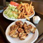 エグリントン・ウエストのゴロゴロチキンと熱々ポテト|トロントB級グルメ王の百味飲食