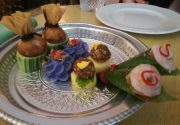 タイの王室料理は華やかで美味でした。