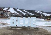 Blue Mountain でスノーボード!